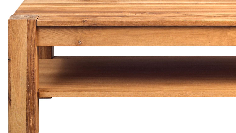 Couchtisch Nils Wildeiche Massivholz Tisch Modern