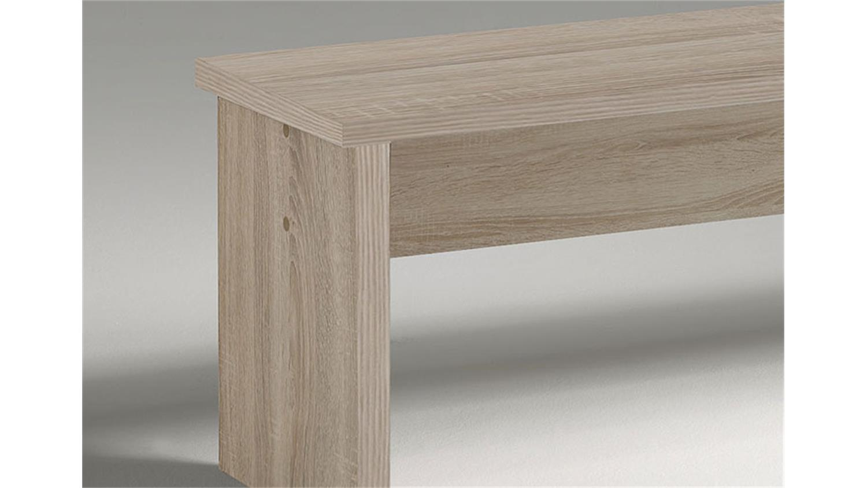 bank big zip sonoma eiche s gerau 140 cm. Black Bedroom Furniture Sets. Home Design Ideas