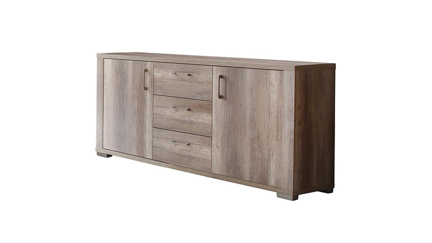 Sideboard matti kommode in wildeiche tr ffel dekor for Sideboard wildeiche