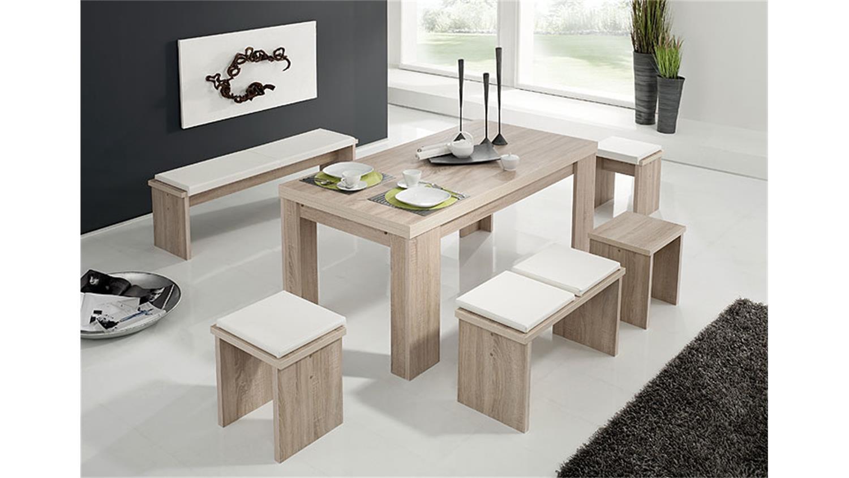 Tischgruppe BIG ZIP Sonoma Eiche Sägerau 180 - 280 cm