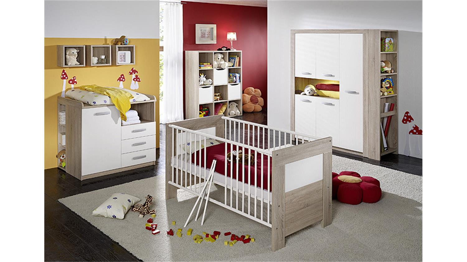 babyzimmer wei g nstig. Black Bedroom Furniture Sets. Home Design Ideas