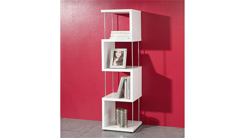 regal sticks 4 f cher standregal raumteiler in wei dekor. Black Bedroom Furniture Sets. Home Design Ideas