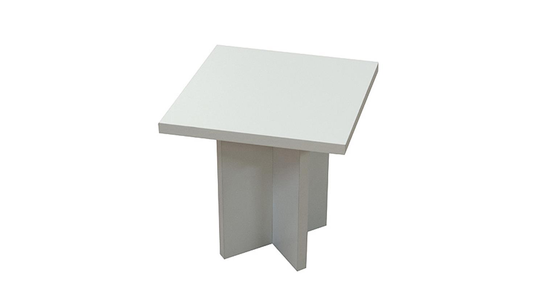 beistelltisch color table tisch couchtisch wei matt dekor. Black Bedroom Furniture Sets. Home Design Ideas