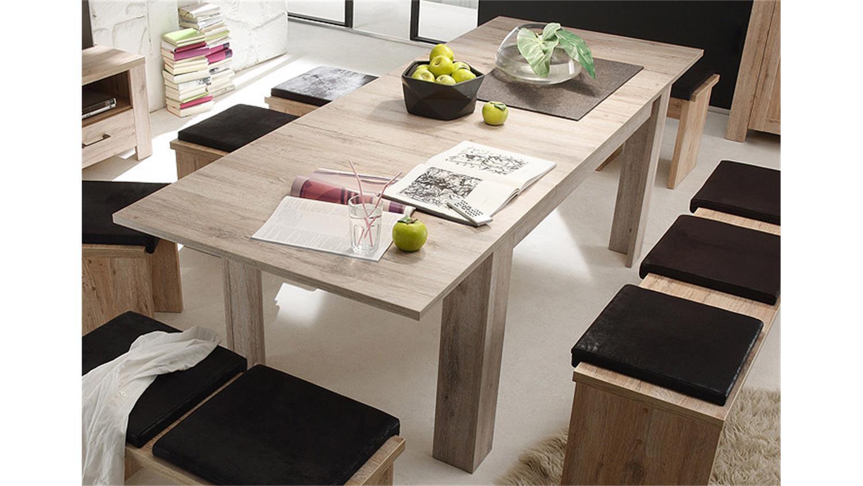 esstisch mambo in eiche s gerau ausziehbar 160 240 cm. Black Bedroom Furniture Sets. Home Design Ideas