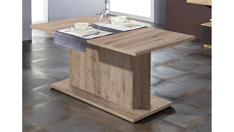esstisch paulo in san remo hell ausziehbar 160 210 cm. Black Bedroom Furniture Sets. Home Design Ideas
