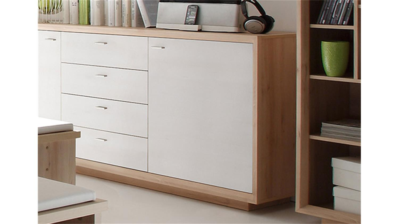 sideboard sven kommode in edelbuche und wei lack. Black Bedroom Furniture Sets. Home Design Ideas