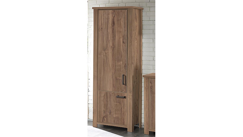 schrank granny seitenschrank in teak mit 2 t ren b 71 cm. Black Bedroom Furniture Sets. Home Design Ideas