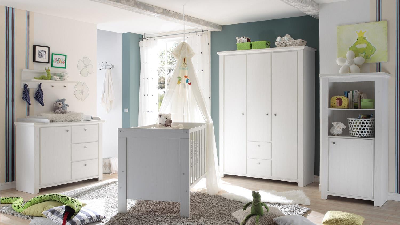 h ngeregal dandy anderson pine wei wandregal 4 haken. Black Bedroom Furniture Sets. Home Design Ideas