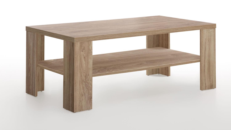 couchtisch country stirling eiche tisch mit fach 110x60 cm. Black Bedroom Furniture Sets. Home Design Ideas