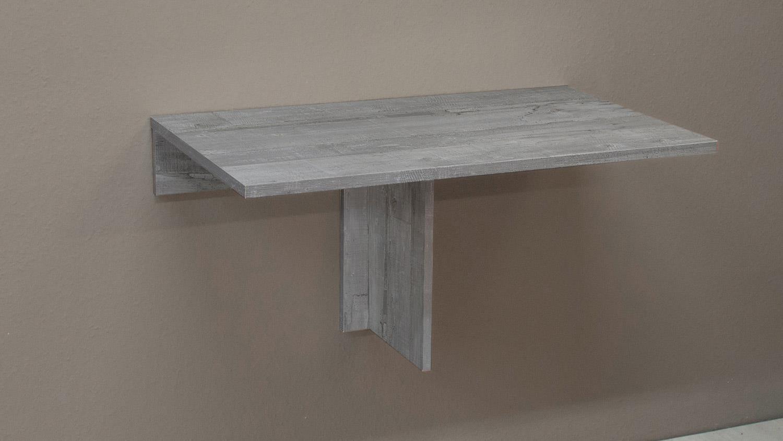 Klapptisch klappi wandtisch beton look esstisch tisch eckig for Dekorfolie tisch