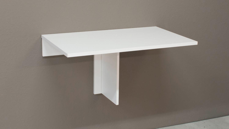 klapptisch klappi wandtisch wei matt esstisch tisch eckig. Black Bedroom Furniture Sets. Home Design Ideas