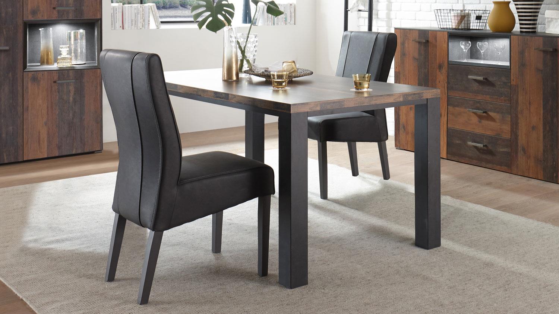 Tischplatte 180 x 90 stunning wangentisch x beton for Tischplatte marmoroptik