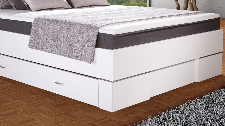 boxbett globe stoff anthrazit matraflex matratze topper 140x200 cm. Black Bedroom Furniture Sets. Home Design Ideas