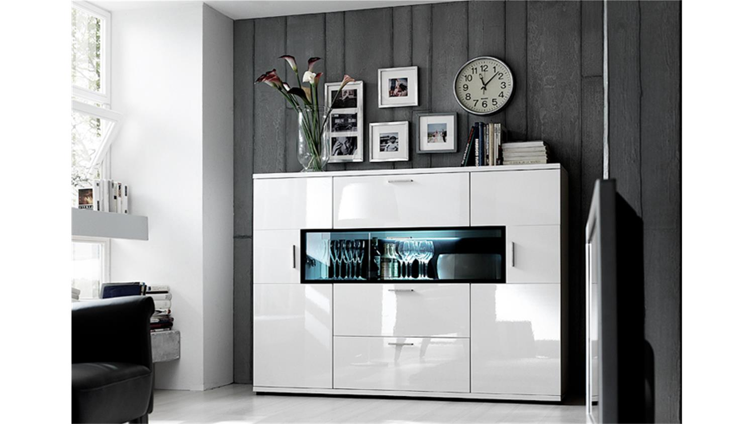 highboard corano bestseller shop f r m bel und einrichtungen. Black Bedroom Furniture Sets. Home Design Ideas