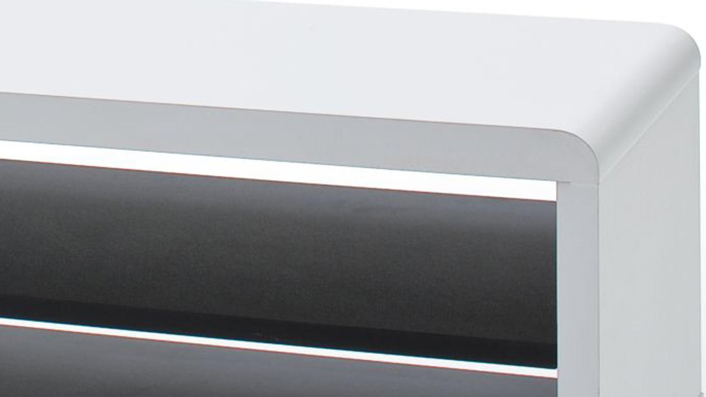 tv board jeff lowboard unterschrank fernsehschrank wei. Black Bedroom Furniture Sets. Home Design Ideas