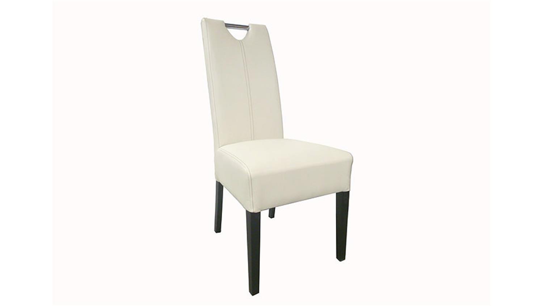 stuhl enya 4er set gestell buche kolonial bezug cremewei. Black Bedroom Furniture Sets. Home Design Ideas