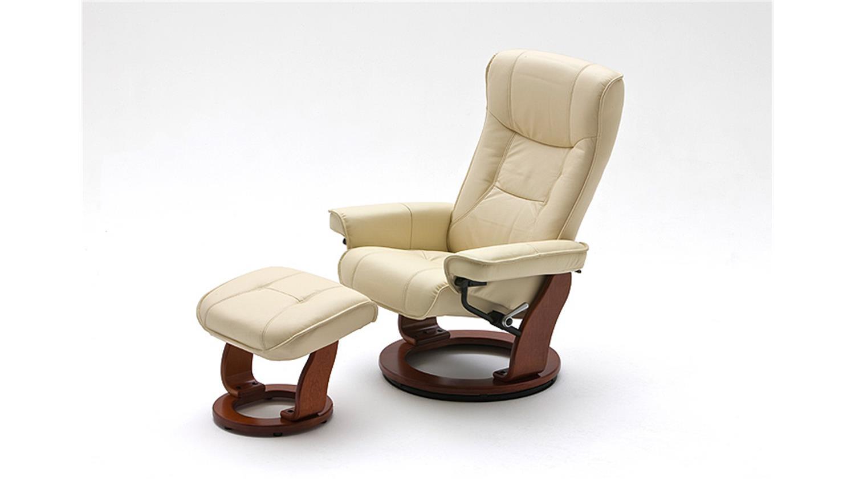 relaxsessel hamilton leder creme honig inkl hocker. Black Bedroom Furniture Sets. Home Design Ideas