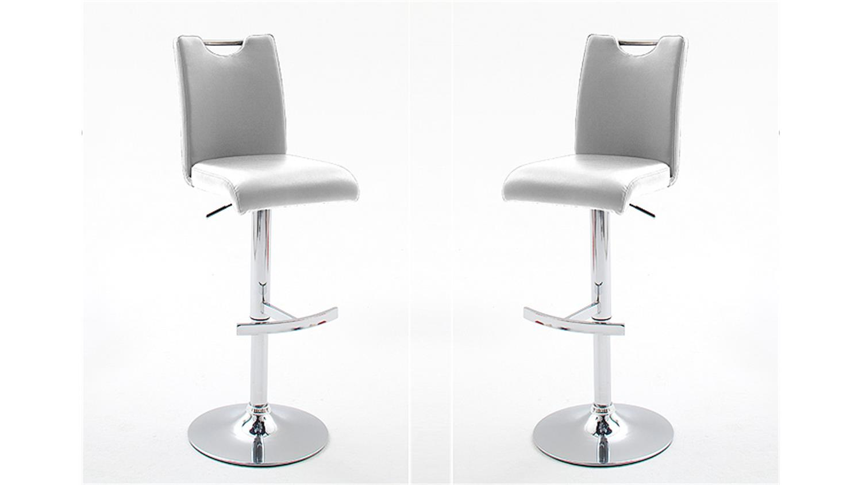 barhocker aachen 2er set griff wei chrom h henverstellbar. Black Bedroom Furniture Sets. Home Design Ideas