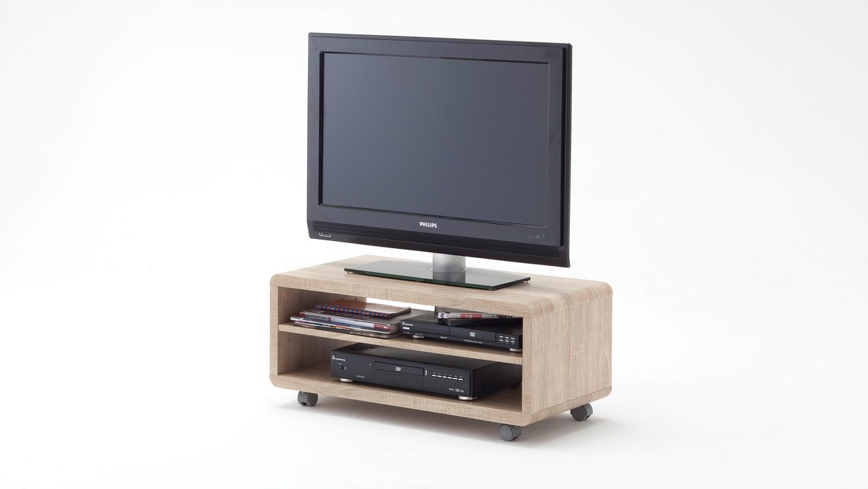 tv board jeff lowboard unterschrank in sonoma eiche s gerau 79 cm. Black Bedroom Furniture Sets. Home Design Ideas