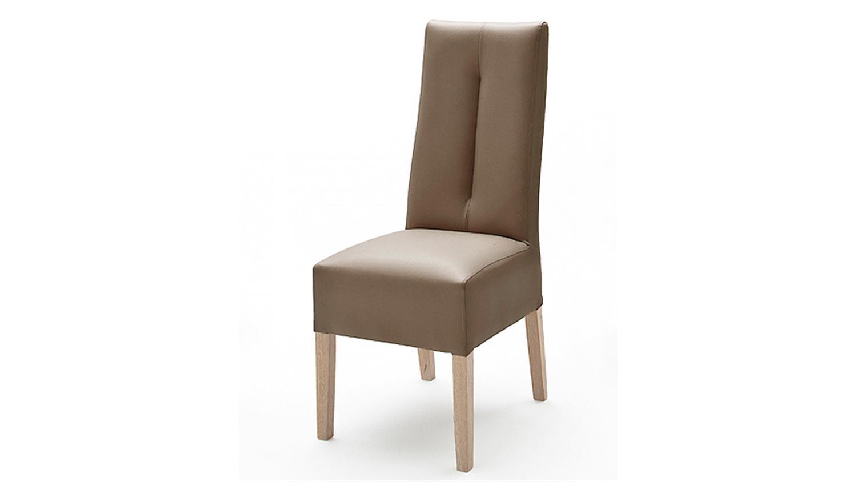 stuhl 2er set fanny cappuccino sonoma eiche. Black Bedroom Furniture Sets. Home Design Ideas