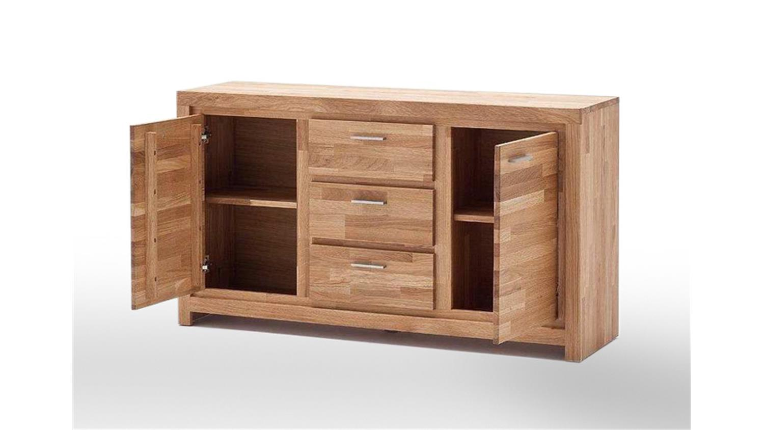 sideboard santos kommode asteiche massiv ge lt und gewachst. Black Bedroom Furniture Sets. Home Design Ideas