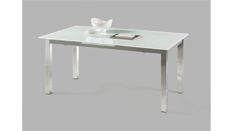 esstisch glas 140 ausziehbar m bel und heimat design. Black Bedroom Furniture Sets. Home Design Ideas