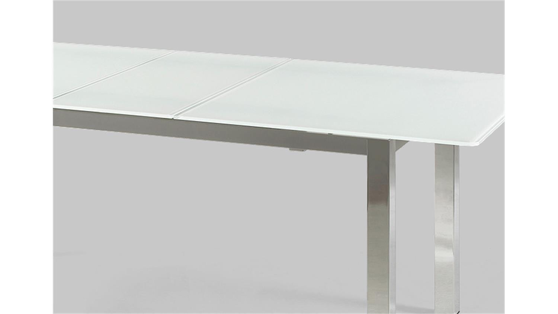 Esstisch glas 140 ausziehbar beste bildideen zu hause design for Esstisch 140 x 100 ausziehbar