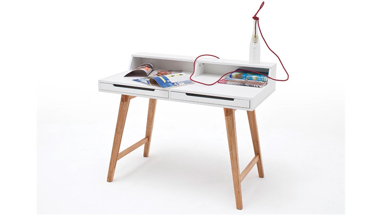 Schreibtisch tiffy wei buche laptoptisch for Buche schreibtisch