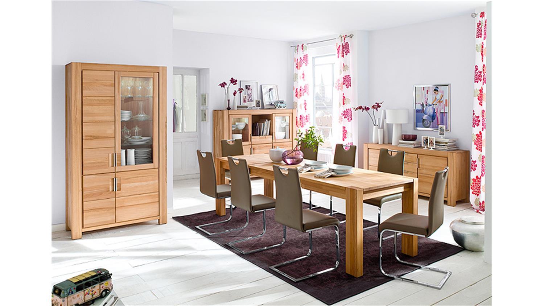 esstisch drive tisch in kernbuche massiv ge lt ausziehbar. Black Bedroom Furniture Sets. Home Design Ideas
