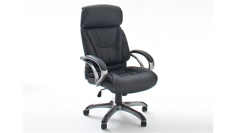 drehstuhl ben schwarz und silber inkl gaslift bis 150 kg. Black Bedroom Furniture Sets. Home Design Ideas