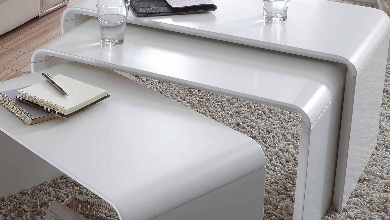 beistelltisch lack wei icnib. Black Bedroom Furniture Sets. Home Design Ideas