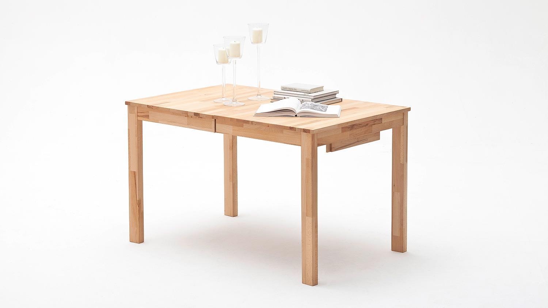 esstisch fabian tisch in kernbuche massiv ge lt ausziehbar. Black Bedroom Furniture Sets. Home Design Ideas