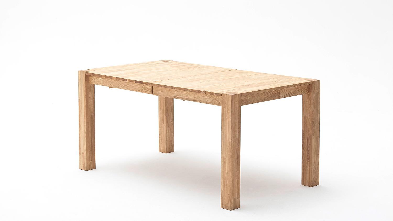 Esstisch Wildeiche Massiv Geölt Ausziehbar ~ Esstisch FERDIS Tisch in Wildeiche massiv geölt ausziehbar