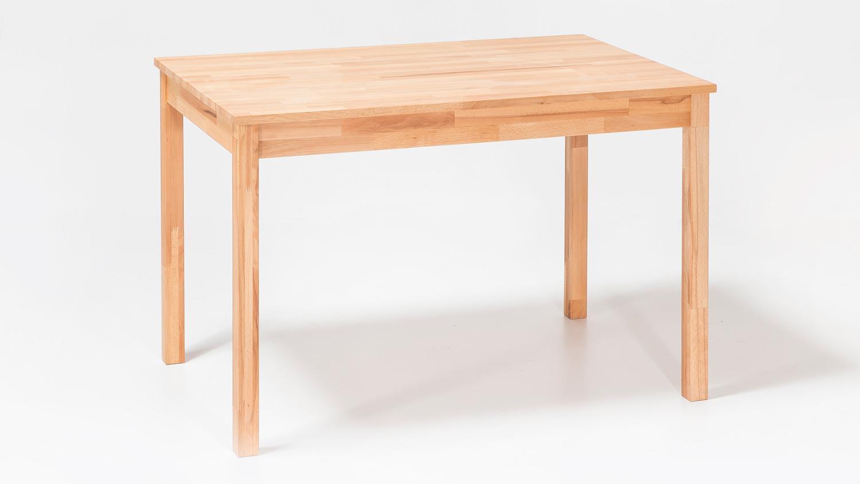 esstisch alfons tisch in kernbuche massiv ge lt 110x70 cm. Black Bedroom Furniture Sets. Home Design Ideas