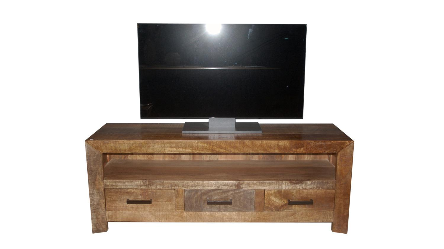 lowboard wayland tv board hifi aus massivem mango holz. Black Bedroom Furniture Sets. Home Design Ideas