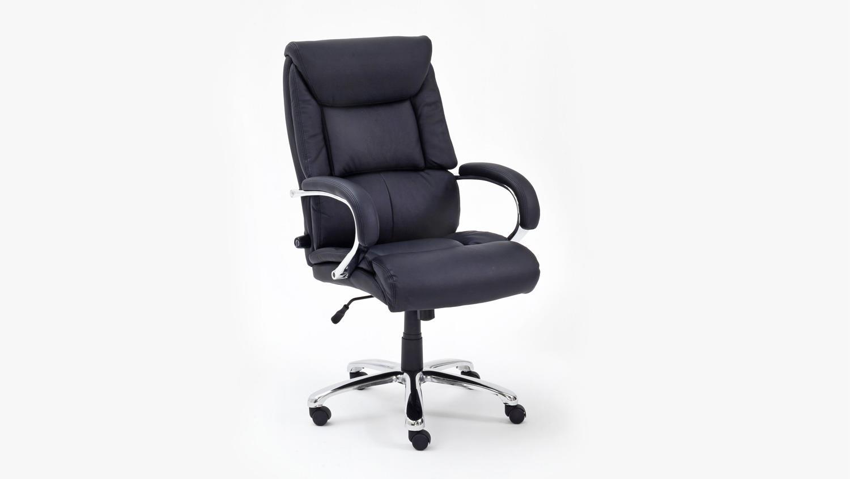 Chefsessel REAL COMFORT RC1 Bürostuhl schwarz Wippfunktion