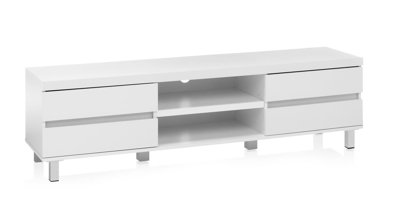 lowboard miloso tv element wei matt mit schubk sten. Black Bedroom Furniture Sets. Home Design Ideas
