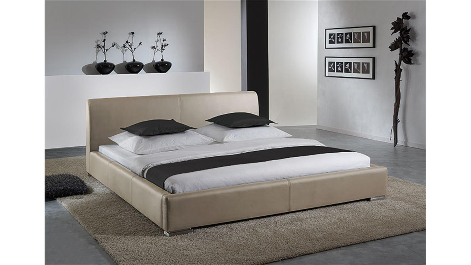 modernes bett 180x200 elegant amazing betten massivholz x. Black Bedroom Furniture Sets. Home Design Ideas