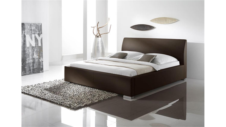 polsterbett delgado ii komfortbett in braun 180x200 cm. Black Bedroom Furniture Sets. Home Design Ideas
