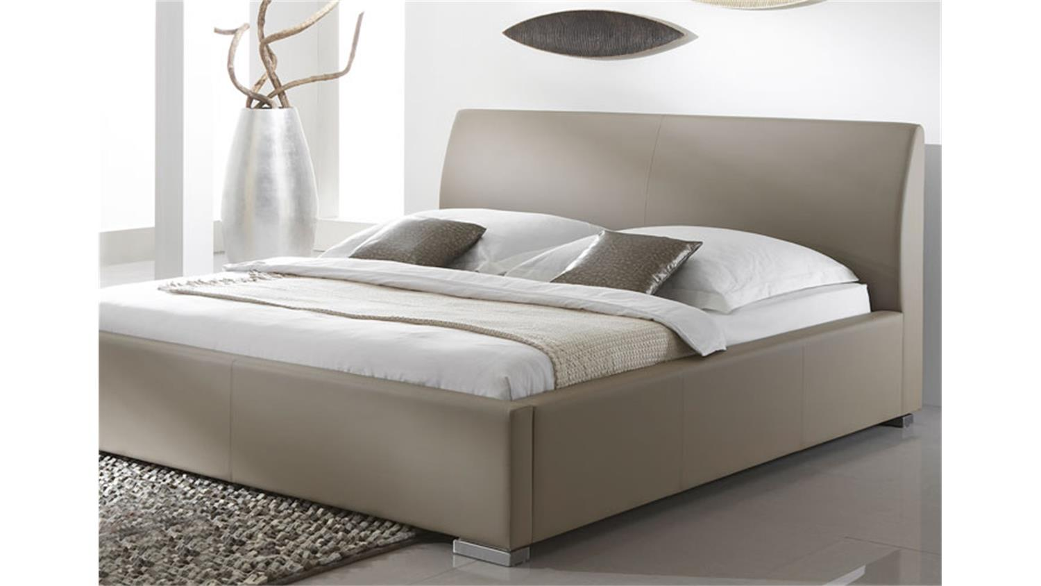 polsterbett delgado ii komfortbett in beige braun 180x200. Black Bedroom Furniture Sets. Home Design Ideas