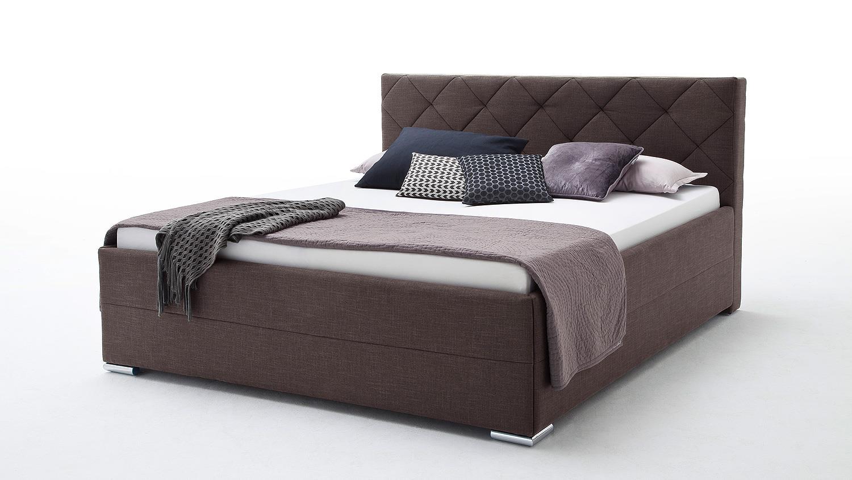 bett chicago schlafzimmerbett jugendzimmerbett dunkelbraun 140x200 cm. Black Bedroom Furniture Sets. Home Design Ideas