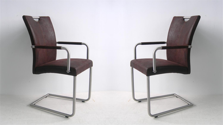 Schwingstuhl mit armlehne 4x schwingstuhl varianten for Design schwingstuhl