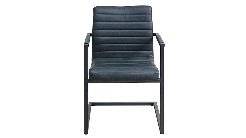 stuhl parzival 6er set anthrazit eisen grau armlehne. Black Bedroom Furniture Sets. Home Design Ideas