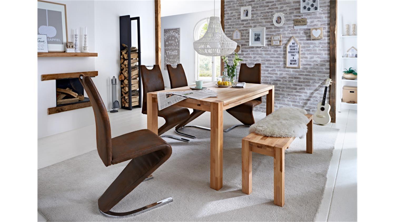 esstisch paul in kernbuche massiv lackiert 160x90 cm. Black Bedroom Furniture Sets. Home Design Ideas