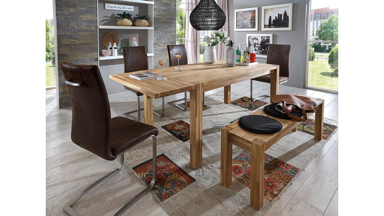 sitzbank paulas bank eiche massiv ge lt 140x33. Black Bedroom Furniture Sets. Home Design Ideas