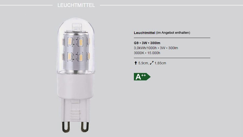 LED Hängeleuchte RYDER Deckenlampe chromfarbig mit Glas Drahtgeflecht