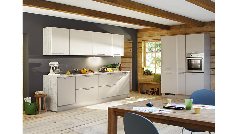 Nobilia Küchenzeile inkl E Geräte und Geschirrspüler 759