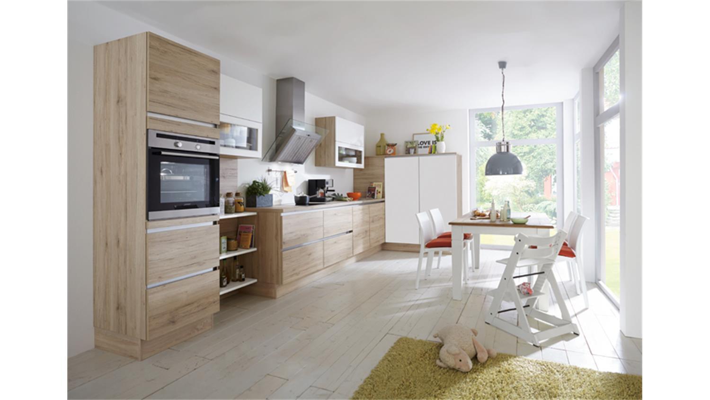 Nobilia Einbauküche L-Küche inkl. E-Geräte - 727