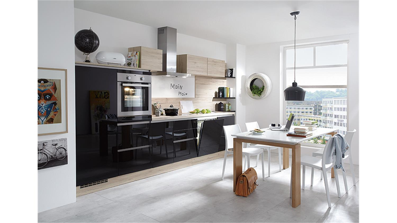 nobilia einbauk che k chenzeile inkl e ger te 723. Black Bedroom Furniture Sets. Home Design Ideas