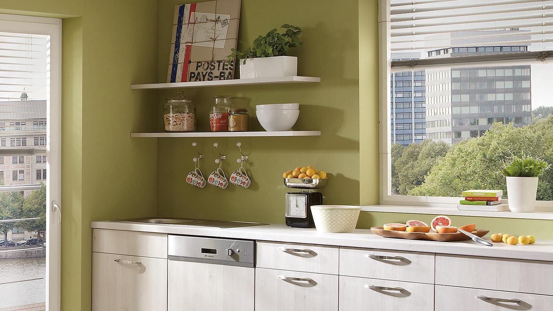 Schone einbaukuche l form bild erindzain for Einbauküche l form
